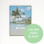 Unik og kreativ gave: Plakat i dit design