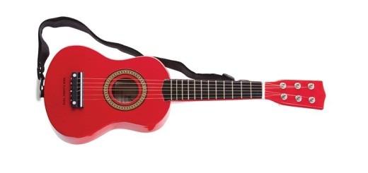 børneguitar rød guitar alletiders gave