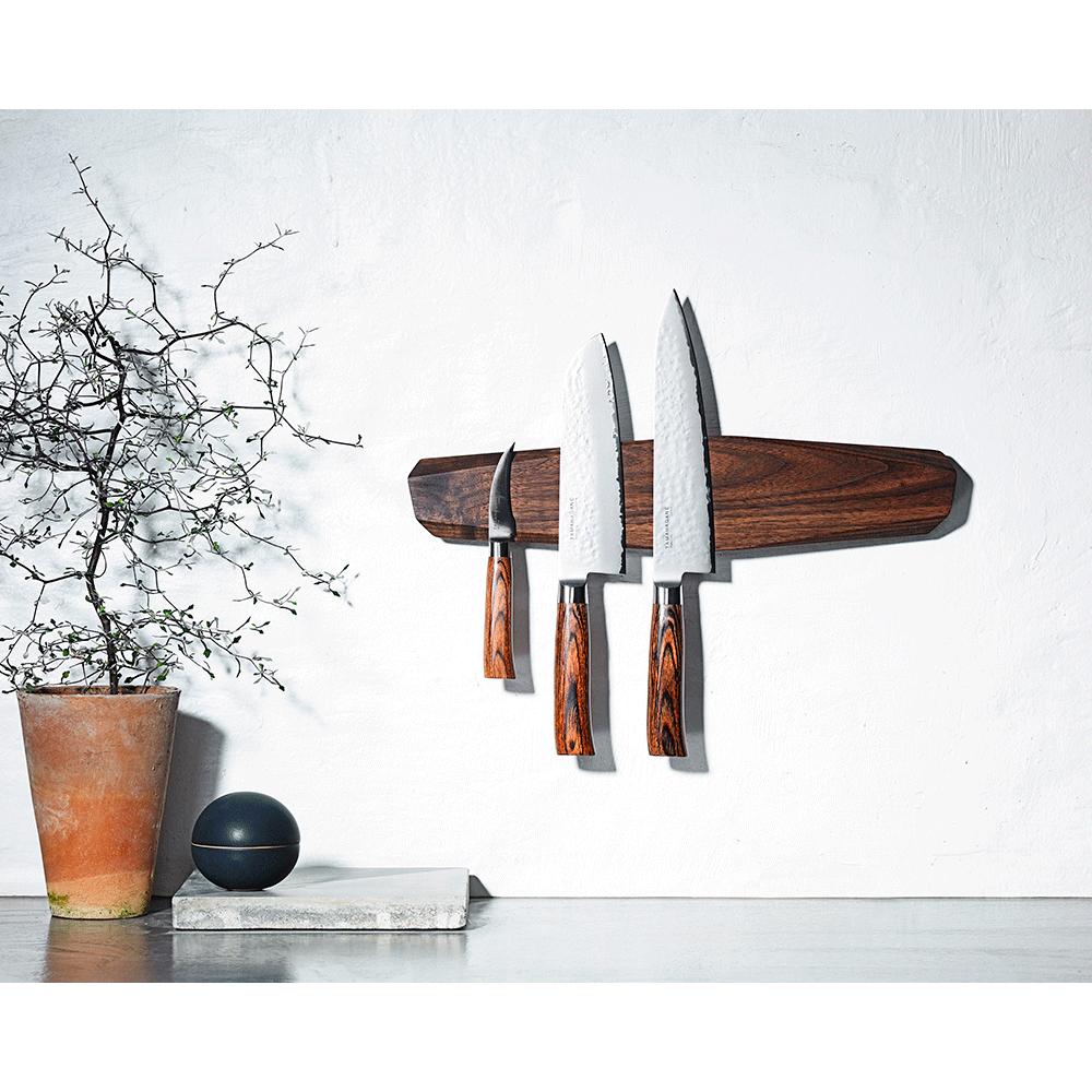 Noyer-knivmagnet-setup