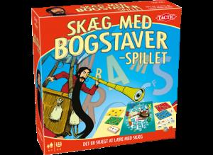 Skæg-med-bogstaver-spillet brætspil alletiders gave