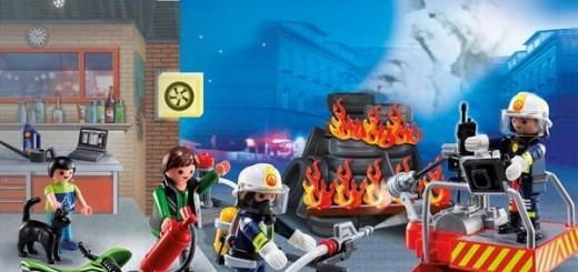 julekalender Playmobil brandmand alletiders gave, adventskalender, pakkekalender, kalendergave, kalendergaver, adventsgave, julekalender