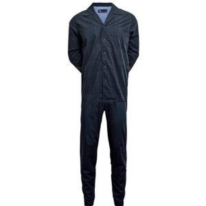 pyjamas nattøj til herre nettøjj til mænd pyjamas til herre pyjamas til mand blå tern jbs