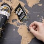 Verdenskort skrabekort – vækker rejselyst og drømme