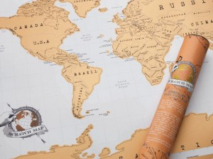 original verdenskort skrav alletiders gave