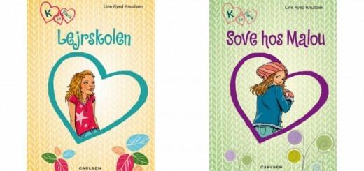 K for Klara alletiders gave bøger til piger 8-10år