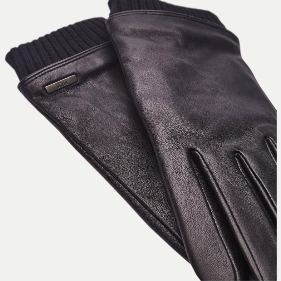 hugo boss skindhandsker med foer sorte hugo boss handsker til mænd julegaveinspiration 2018