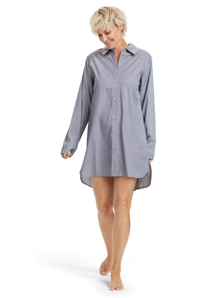 nattøj til damer damepyjamas natskjorte til kvinder julegaveinspiration