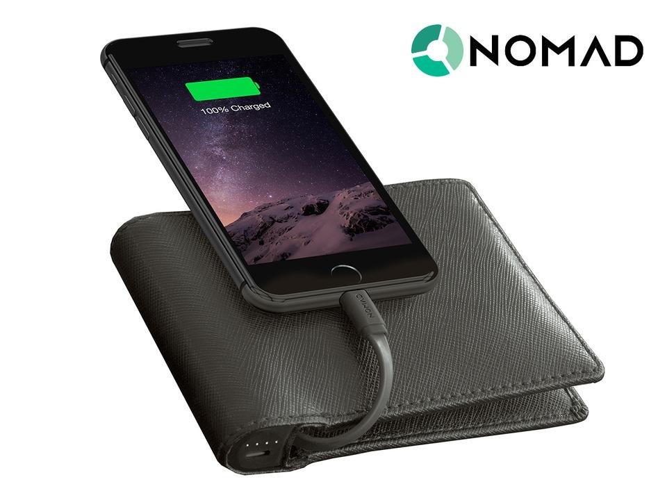 Pung med indbygget iphone oplader alletidersgave