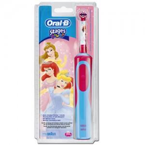 Elektrisk tandbørste til børn oral B stage power