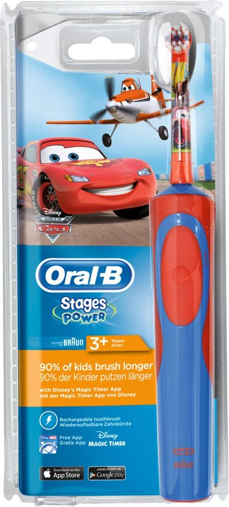 Elektrisk tandbørste til børn Oral B stage Power biler