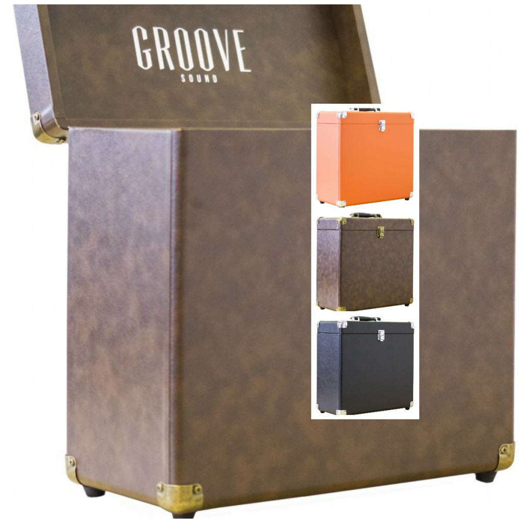 Opbevaring til PL Kasse til LP Groove LP kasse