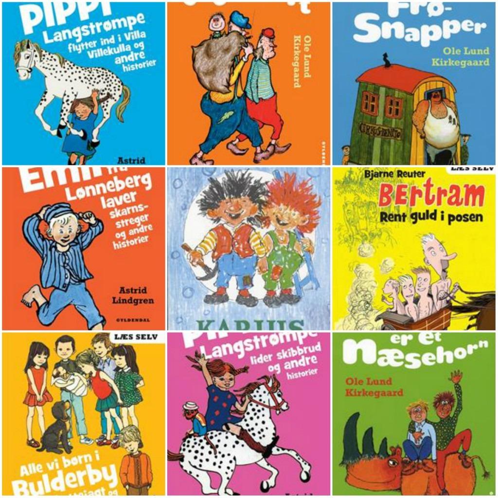 Klassiske børnebøger alle tiders gave anbefaler. Gave til børn