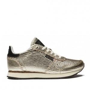 woden sneakers sølv