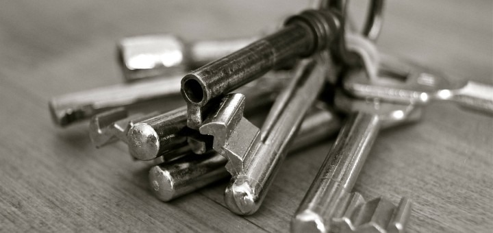 Nøglepung i gave