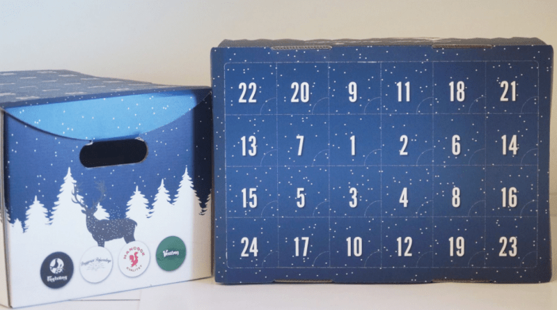 Øl pakkekalender, øl julekalender, øl adventskalender, øl julekalender 2017, øl pakkekalender 2017, julekalender til mænd, julekalender til ham, juleøl julekalender, alletiders gave