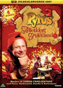 Pyrus alletiders julemand julekalender dvd