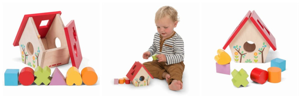 legetøj i dåbsgave dreng puttekasse i træ