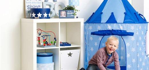 legetelt med stjerne, legetelt til dreng, legetelt til pige, legetelt til børn, gave til børn, Gaveidéer, gave, julegave, julegaver, fødselsdagsgave, gaveinspiration,