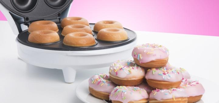 hjemmelavet lækkerier, børn i køkkenet, Gaveidéer, gave, julegave, julegaver, fødselsdagsgave, gaveinspiration, hjemmelavede donuts, donuts maskine, gave til børn, gave til hele familien
