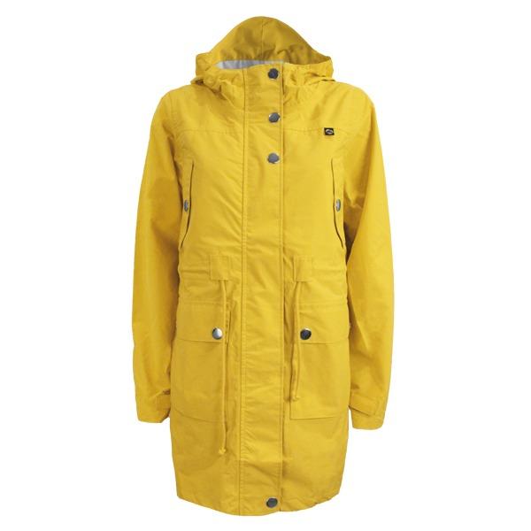 regnfrakke til hende danefæ gritt gul