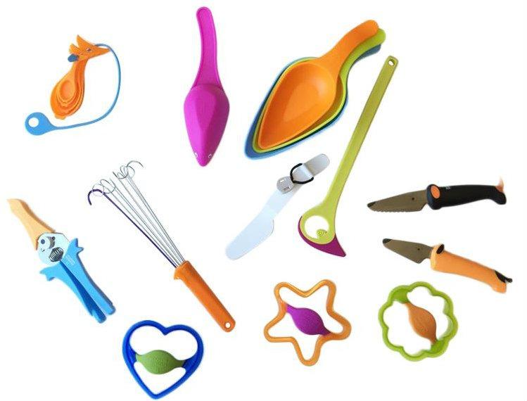 kinderkitchen, børnekniv, hele sortimentet fra kinderkitchen