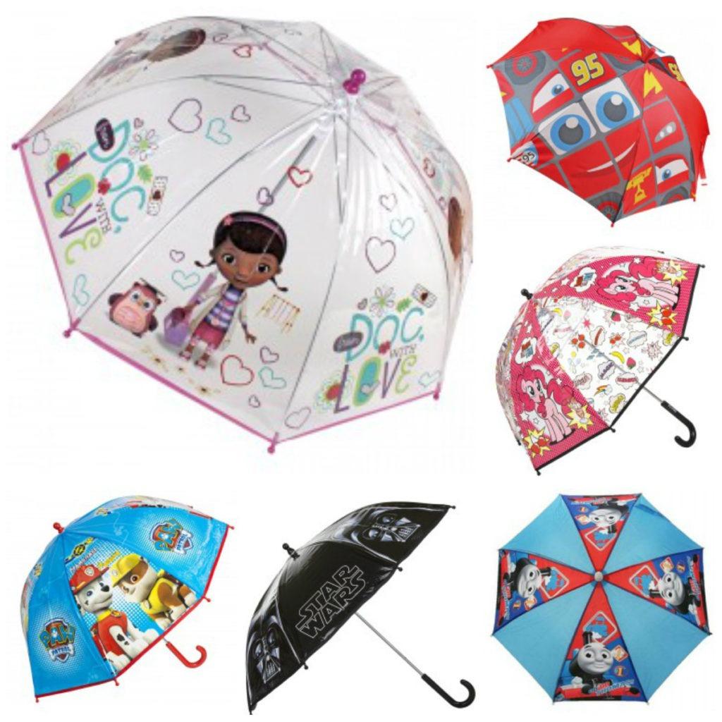 adventsgaver til børn papraply Her ses Doktor McStuffin paraply, Biler paraply, My little Pony paraply, Paw Patrol paraply, Star Wars paraply og Thomas Tog paraply.