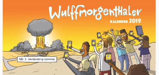 wulffmorgenthaler 2019, årets mandelgave 2019, kalender 2019, bordkalender 2019, alletiders gave