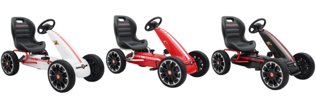 abarth gokart abart gokart tilbud mooncar moon car gokart 80er mooncar gul moon car