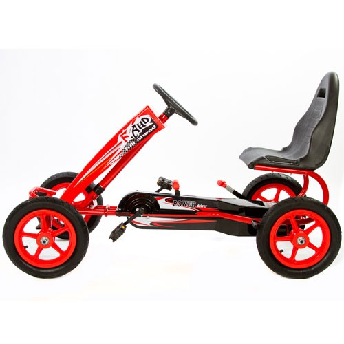 hurricane gokart gokart under 1000 kr. billig gokart mooncar moon car gokart 80er mooncar gul moon car