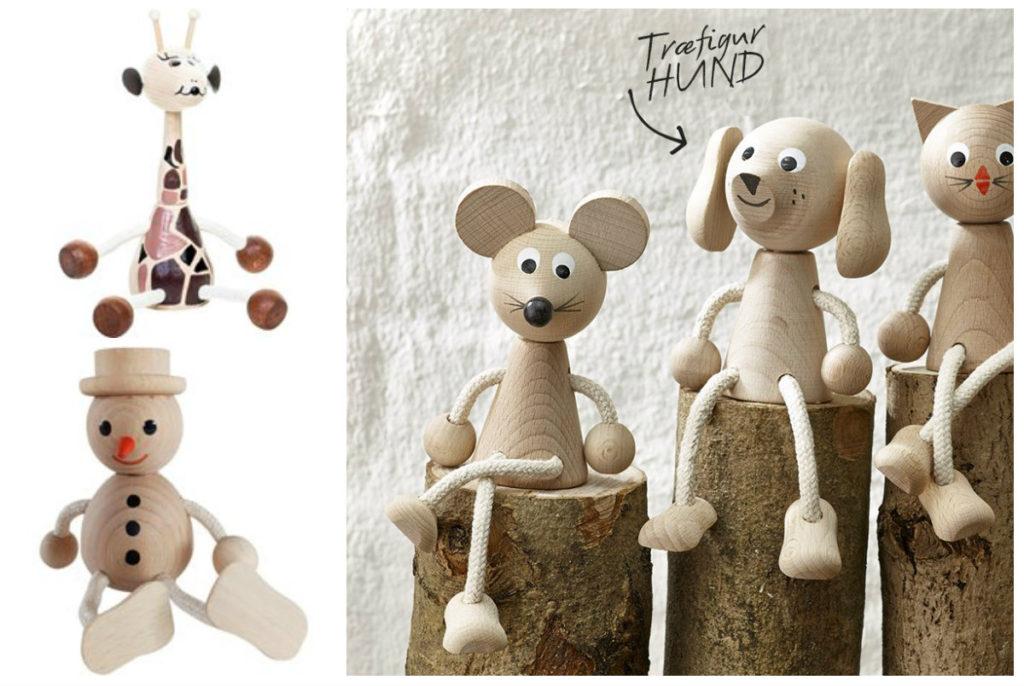 kras figur giraf snemand kras træfigur mandelgave inspiration kras samleobjekter alletiders gave værtindegave