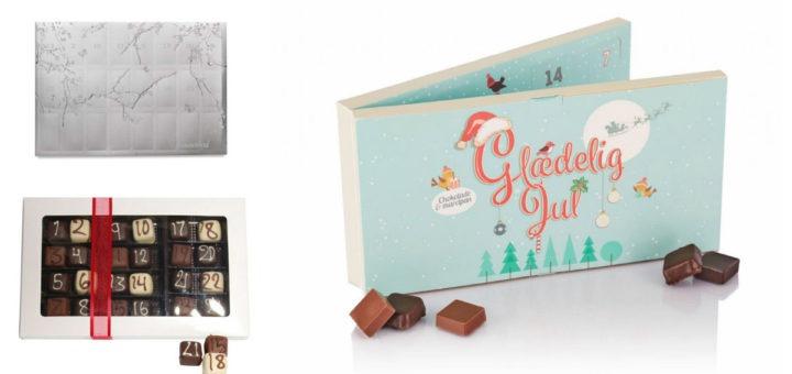 luksus chokolade julekalender