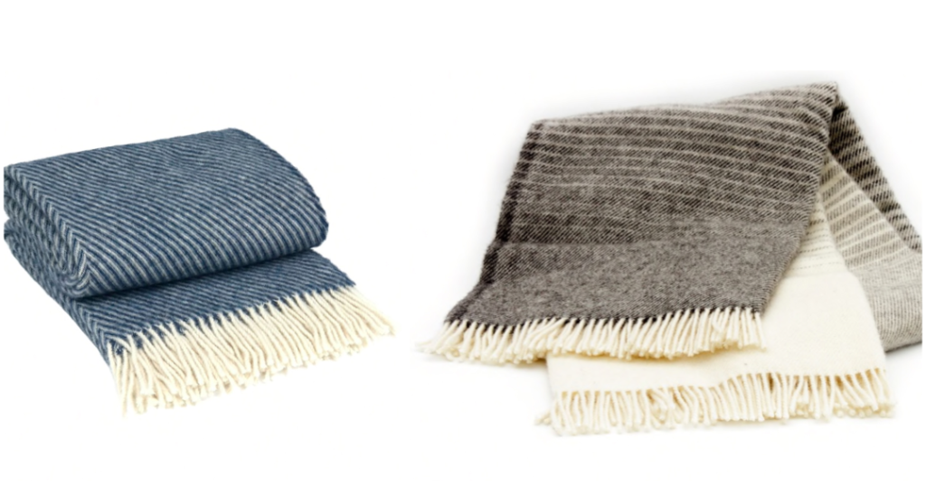 plaid uld tæppe gave farmor gave mormor gaveinspiration plaid 100% uld dansk plaid