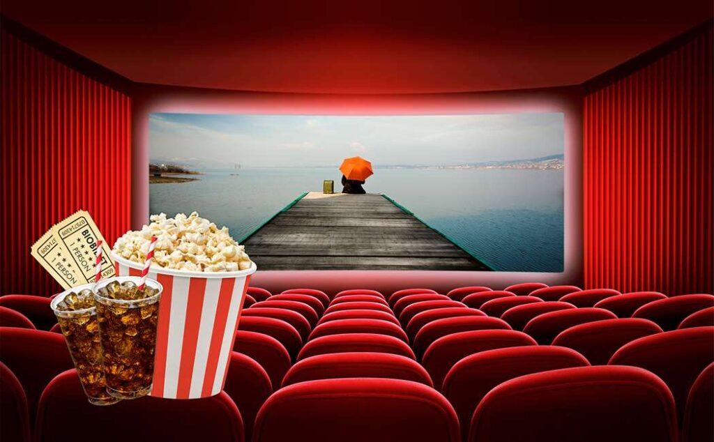 biografbilletter som mandelgave