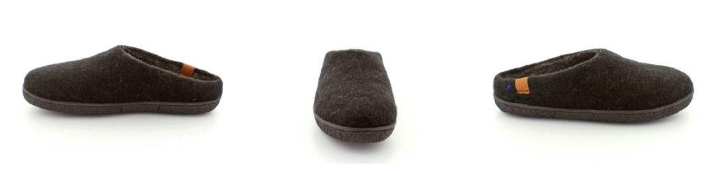 hjemmesko til herrer hjemmesko i uld sutsko til mænd sutsko i uld skridsikker sål greencomfort