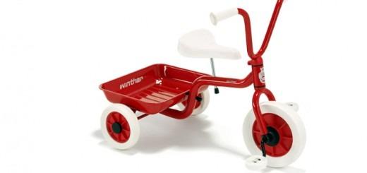 rød winther cykel, trehjulet cykel, ladcykel, Gaveidéer, gave, julegave, julegaver, fødselsdagsgave, gaveinspiration,