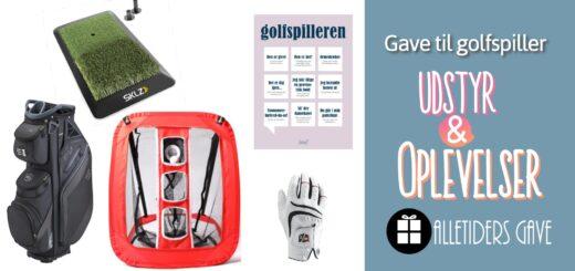 gave til golfspiller golfgave gave golfelsker gave golfentusiast alletidersgave gaveinspiration golf golfoplevelse gavekort golf træningsudstyr til golf nybegynder golf