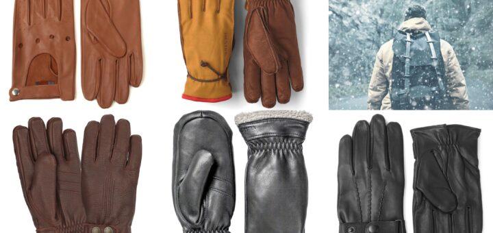 handsker til mænd, klassisk gaveide til mænd, gave til manden der har alt, herrehandsker i skind, skindhandsker til mænd, ruskindshandsker til mænd, skindluffer til mænd