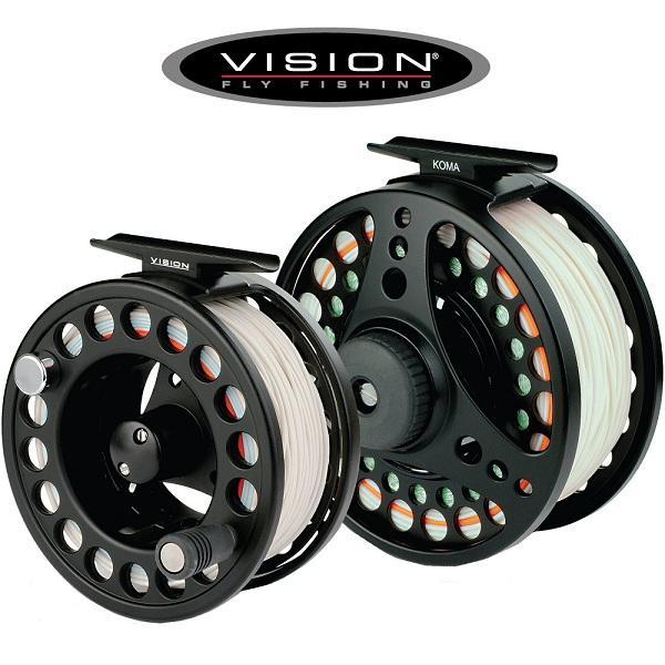 Gave til lystfisker vision-koma-fluehjul-fiskeri-fiskegrej-koeb-lystfiskeren-com-holbaek-forhandler-hurtig-levering-com-kvalitet-p