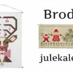 Broderi julekalender