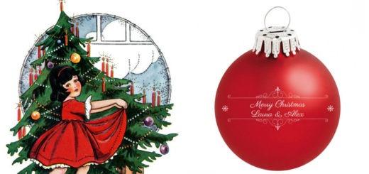 personlig julekugle med navn, julekugler med navn, julepynt med navn, gaver med navn, julegave med navn, gaver med navn, personligt julepynt, personlige gaver, alletiders gave, gaveinspiration, rød julekugle med navn, røde julekugler