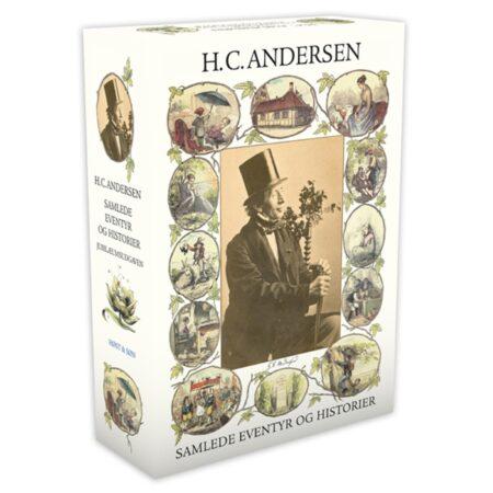 hc Andersens eventyr med navn dåbsgave med indgravering