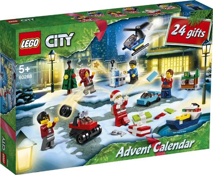 LEGO City julekalender 2020 LEGO city adventskalender 2020 pakkekalender 2020 LEGO city