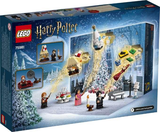 LEGO Harry Potter julekalender 2020 Pakkekalender med Harry Potter LEGO ulekalender 75981 harry potter