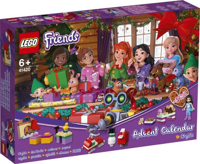 Lego Friends julekalender 2020 pakkekalender Lego friends 2020 adventskalender til piger 2020