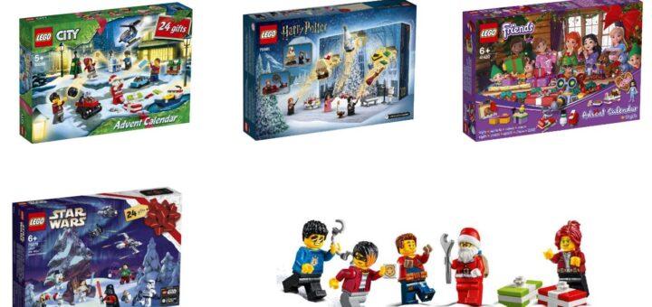 julekalender Lego 2020 pakkekalender 2020 Lego friends lego star wars lego harry potter lego city