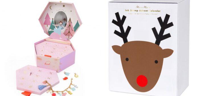 meri meri julekalender, meri meri pakkekalender til børn, julekalender med smykker, kreativ julekalender til piger, kreativ pakkekalender til piger, julekalender til piger 2019, julekalendere til børn 2019,