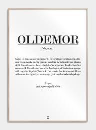 oldemor citat plakat gave til oldemor gavetips oldemor gaveinspiration oldemor gaveide oldemor