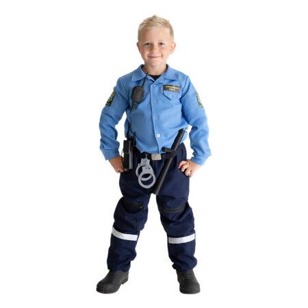 politimand kostume gave til 3 årig