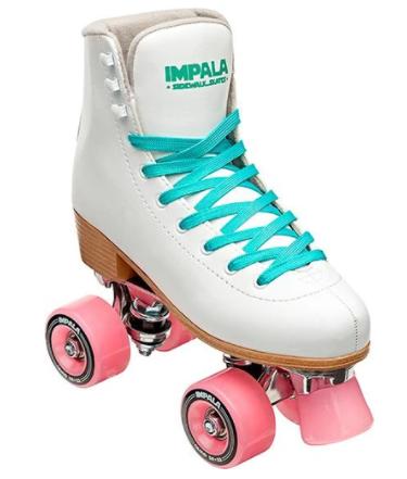 rulleskøjter til piger gave til 10 år pige gave til 11 år pige hvide rulleskøjter impala rulleskøjter