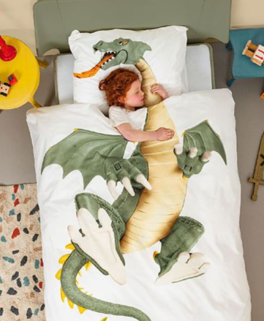 snurk sengetøj 4 år gave dreng